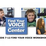 Kids Find Your Voice Workshop April 23rd