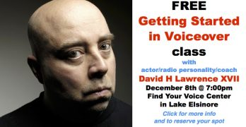 Free Getting Started in Voiceover Class