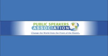 Public Speakers Association Meetings